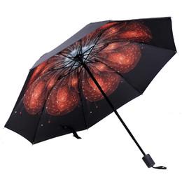 Креативные лепестки складывают зонт Винил предотвращает греться на солнце зонтик-амфибию в подарок на заказ в тени дождя или блеска от Поставщики виниловые оттенки