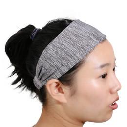 2019 золотые кольца для гимнастики 1Pcs Women Coon Yoga Hair Band Breathable Wide Elastic Headband durable Sport Knoed Turban Head Warp