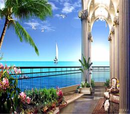 Sconto carta da parati 3d balcone 2019 carta da parati for Parati economici
