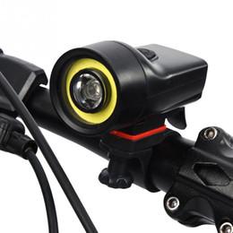 передняя скоба Скидка Outdoor Night Cycling Light 500lm IPX5 Waterproof Bike Front Light Bicycle Safety Warning Headlight Bike Lamp with Bracket