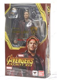 Wholesale stars wars toys - New Sale Avengers 3 Infinity War STAR-LORD SHF SHFiguarts PVC Figure Toy Doll Collection Model Great Gift Phone Accessories