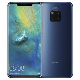 2019 сотовые телефоны ip68 Оригинал Huawei Mate 20 Pro 4G LTE Мобильный телефон 8 ГБ RAM 256 ГБ ROM Кирин 980 Octa Core 40.0MP 6,39 дюймов Полноэкранный IP68 OTG NFC сотовый телефон скидка сотовые телефоны ip68
