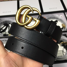 82a5d7a64ce luxury belts luggage designer G men s jeans belt senior tiger head copper  buckle belt new leather women dress belt