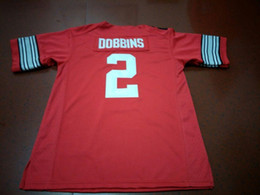 0b8ef4031 Men  2 J.K. DOBBINS Ohio State Buckeyes College Jersey white red black  Personalized S-4XLor custom any name or number jersey