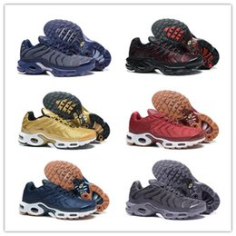 Wholesale Tn Trainers - Plus TN Running Shoes for Men Fashion TNS Trainers Athletic Sneakers High Quality Fast Shipping US7-US12