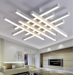 Modern LED Tavan Avizeler Işıkları beyaz siyah vücut yaratıcı tavan avizeler lamba yatak odası oturma odası için nereden