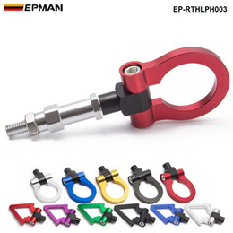 Wholesale forge fitting - EPMAN NEW Jdm Aluminum Forge Front Tow Hook Bar Front Rear For Honda FIT 04 EP-RTHLPH003