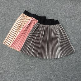 2018 Printemps Automne Angleterre Style Mode Filles Jupe Plissée Vintage Enfants Vêtements Enfants Vêtements Mélanger Couleur ? partir de fabricateur
