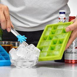24 Grille DIY Grand Moule À Glaçons Forme Carrée Silicone Bac À Glaçons Facile Libération Maker Creative Accueil Bar Cuisine outils FFA398 ? partir de fabricateur