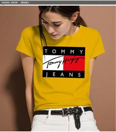 T-shirt di graffiti firmati 100% in cotone T-shirt in cotone arruffati di design a maniche corte di lusso New Arrive da donna da magliette in puro poliestere fornitori