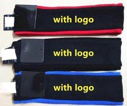 Wholesale Fleece Headband Black - FASHION Sup headbands fleece Black Red Blue 3 colors SUP Wool hair band Sweatband Free Shipping