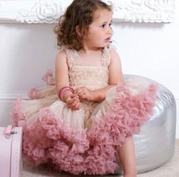 Платье ангела онлайн-Мода милый ребенок девушки платье день рождения платье дети девушки ангела марлевые юбки детские принцесса платье Туту юбка