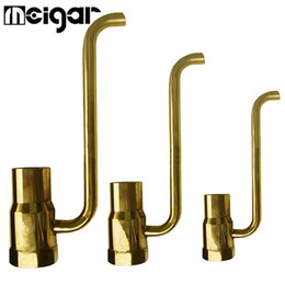 Wholesale Outdoors Fountains - 3 Sizes Brass Fountain Nozzle Golden Indoor Outdoor Watering Cooling Sprayer Atomizing Atomizer Garden Patio Irrigation Supplies