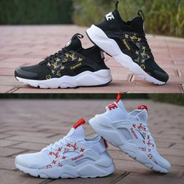 huaraches sneakers women Promo Codes - SUP 2018 Air Huarache 4.0 Classical White Black Men Women Huaraches Running Shoes Harache Trainers Sports Huraches Sneakers Size Eur 36-45
