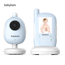 Wholesale Vision Key - Babykam Baby Mnoitors IR Night vision Lullabies Temperature Monitor Touchable Key Baby Intercom VOX Feeding Alarm monitors
