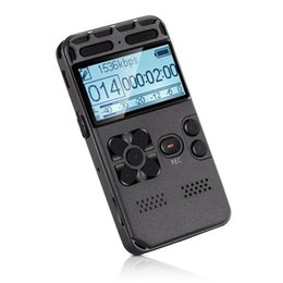Wholesale Record Audio Card - Lgsixe Digital Voice Recorder with TF Card Slot and Password Protection Function Large Display Voice Activated Audio Recording D