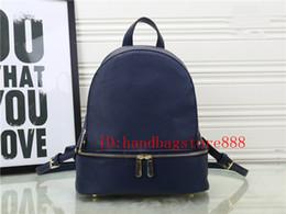 Wholesale Designer Purses Satchel - Hot Fashion women famous brand MICHAEL KALLY backpack style bag pu quality handbags for girls women luxury Designer shoulder tote bags purse