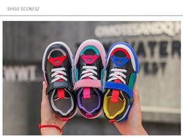 2019 chaussures en gros de brevets pour bébés Vente chaude Bébé fille garçons Enfants Basketball Respirant Sneaker Designer Marque Wudao Athlétique Sport Casual Chaussures Printemps Running Chaussures Pour Enfants