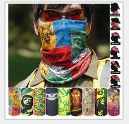 Wholesale Turban Magic Headband - Riding Bicycle Motorcycle Mask Headscarf Variety Turban Novelty Bandanas Magic Headband Multi Head Scarf 220 Styles Choose