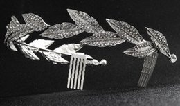 Canada Mode occidentale super-haute qualité marque couronne multicouche pleine feuille d'alliage de diamant inséré diadèmes de mariée bijoux de cheveux de fête de mariage Offre