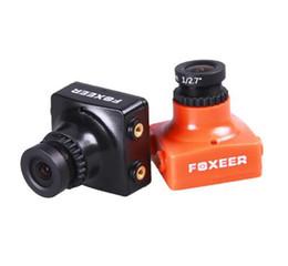 Canada Haute qualité Foxeer HS1190 Arrow 600TVL CCD OSD NTSC 2.8mm Bloc IR noir Mini caméra FPV 5-35v avec support pour FPV Multicopter Offre