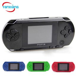 Wholesale 16 Bit Games - 30PCS Wholesale PXP3 16 Bit TV Video Game Console Gameboy Handheld Gaming Consoles PXP Mini Pocket Game Players For GBA Games DHL YX-PXP-1