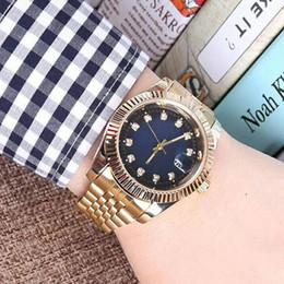 2019 pulsera para hombre diamantes Relogio aaa calidad diamante para hombre relojes de lujo de acero inoxidable moda hombres oro reloj automático daydate cuero pulsera broche maestro reloj pulsera para hombre diamantes baratos