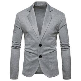 4c75e0c5db 2019 blazers da europa Homens jaqueta Blazer masculino 2018 outono novo  Homens terno casaco de malha