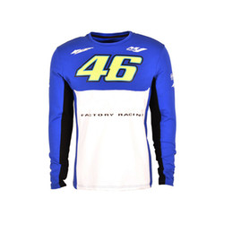 Wholesale Vr Shirt - New Arrival VR 46 M1 motorcycle Jersey moto gp motocross MTB DH MX Jersey Bicycle Cycling Bike downhill Jersey Fast Dry Smooth5