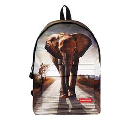 Zaino per laptop da uomo, antifurto, borsa da viaggio per bambini, zaini, zaini, borse per bambini, zaini Kawaii Tiger Elephant, zaino posteriore Mochila da