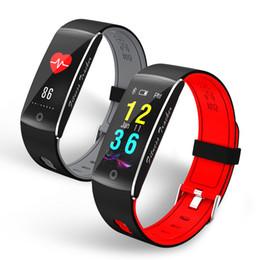 Wholesale Call Tracking - Newest Corol Smart Movement Bracelet F10 Sports Pedometer waterproof IP68 Swimming smart band Heart rate Monitor Fitness track Wristband F07