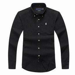 платье с ящиками Скидка hh мужская рубашка поло с длинным рукавом осень весна классическая рубашка мужская повседневная рубашка поло с короткими рукавами мода социальная рубашка бизнес с длинным рукавом D15