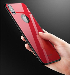 Wholesale Glass Transparency - Luxury Tempered Glass Phone Case For iphone X Anti-scratch High Transparency Full Glass Back Cover For iphone X 8 8P