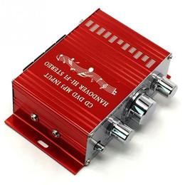 Amplificador de jogador on-line-Hifi Amplificador de Áudio Estéreo Pequeno amplificador de potência de móveis de instalação da motocicleta carro elétrico hotel fundo DC amplificador jogador