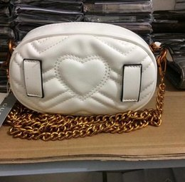 Wholesale Leather Heart Shaped Handbag - Autumn And Winter style Most populur luxury handbags women bag designer mini messenger bags Cross body Shoulder velvet girl waist bag