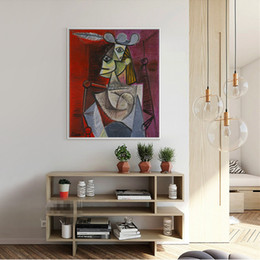 Wholesale Picasso Print Abstract - Picasso Abstra Oil Painting on Canvas HD Print Wall Art Picture Home Decor Modern Art Painting Unframed