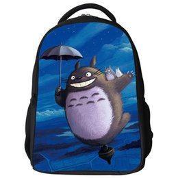 Wholesale Totoro School Backpack - 16Inch Anime My Neighbor Totoro Backpack Bag School Bag