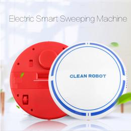 2019 spazzatrice automatica Il nuovo disegno del pavimento USB ricaricabile intelligente automatico robotizzato Sweep Robot Aspirapolvere Mini Automatic spazzatrice polvere spazzatrice spazzatrice automatica economici