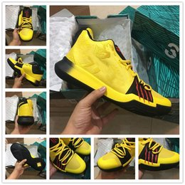 Wholesale Size 12 Men - Kobe x Kyrie III Bruce Lee Basketball Shoe Kyrie 3 Mamba Mentality Top Quality Discount Sale With Box Size 7-12