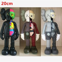 7724bd5d 8 Inch 20CM KAWS Dissected Companion original fake action figures toy for  children Kaws toy High Quality Free Shipping