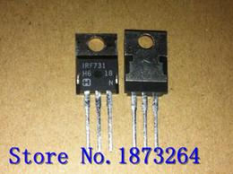 Efeito transistor original on-line-Frete grátis efeito de campo transistor IRF731 TO220 Novo e original 10 PÇS / LOTE