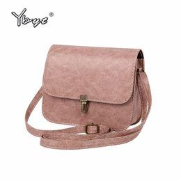 e15c46989d41 YBYT Brand 2018 New Flap PU Leather Mini Handbag Hotsale Lady Shoulder Bag  Women Satchel Shopping Purse Messenger Crossbody Bags