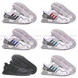 Wholesale America Asia - EQT Cushion ADV 91 Primeknit Sneakers 2017 Men Women Triple Black White Red Blue Grey North America Europe Asia Running Shoes36-45