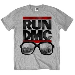 Et occhiali online-T-shirt RUNER DMC 'glasses NYC' - Neuf et officiel