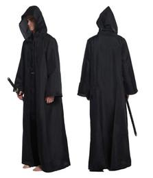 фиолетовая женщина средневекового платья Скидка Cos Jedi Knight плащ мужчины косплей костюмы для взрослых Хэллоуин костюм мыс производительность халат костюмы мужчины Оптовая