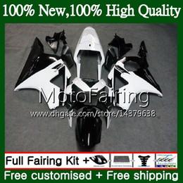 HONDA CBR900RR için gövde Siyah beyaz CBR 954 RR CBR900 RR CBR954RR 02 03 41MF22 CBR954 RR CBR 900RR CBR 954RR 2002 2003 Fairing Karoser cheap 954rr fairing white nereden 954rr fuar beyazı tedarikçiler