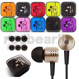 Colorido de ruido de 3,5 mm para auriculares de metal Auricular universal Cancelación en la oreja Auriculares para Samsung teléfono androide desde fabricantes