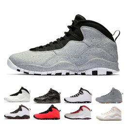 wholesale dealer e5455 6130c vendita all ingrosso 10 10s Cement Westbrook Classe di scarpe da basket da  uomo 2006 bianco nero Cool Steel Grigio Chicago Powder Blue scarpe da  ginnastica ...