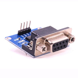 Wholesale Rs232 Serial Converter - RS232 To TTL Converter Module COM Serial Port Board MAX3232 MAX232CSE DIY Electronic Kit Communication Shield Board
