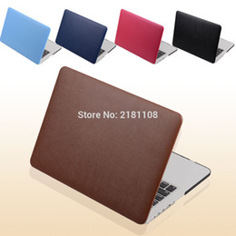 Wholesale Macbook Pro 15 Sleeve Leather - PU Leather Coated Protect Sleeve Laptop Case Cover For MacbooK Air 13 11 Pro 13 Retina 12 15 A1398 A1278 A1502 A1286